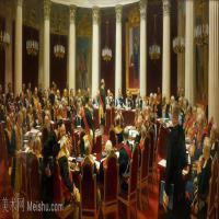 【打印级】YHR15105429-列宾Ilya Repin经典油画作品高清图片人物肖像油画作品图片素材写实派画家油画作品大图-28M-4721X2113