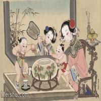 【超顶级】MSH1052民俗画杨柳青年画人物仕女儿童图片-370M-12648X7620_1533859