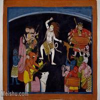 【印刷级】YD12159676-印度画异域文化高清晰图片电子文件下载-47M-5001X3328