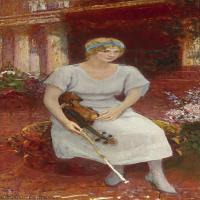 【欣赏级】YHR15105401-列宾Ilya Repin经典油画作品高清图片人物肖像油画作品图片素材写实派画家油画作品大图-5M-932X1999