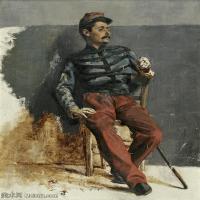 【打印级】YHR15105433-列宾Ilya Repin经典油画作品高清图片人物肖像油画作品图片素材写实派画家油画作品大图-34M-3120X3840