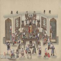 【超顶级】MSH1061民俗画开学顽戏杨柳青年画娃娃学院图片-341M-13443X7745_1553453