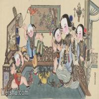 【超顶级】MSH1048民俗画杨柳青年画人物儿童仕女图片-402M-13611X7701_1531828