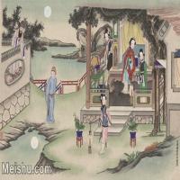 【超顶级】MSH1070民俗画杨柳青年画人物仕女图片-396M-12957X7955_1533343