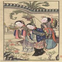 【超顶级】MSH1051民俗画杨柳青年画人物仕女图片-287M-6489X11524_1525343