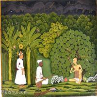 【印刷级】YD12159693-印度画异域文化高清晰图片电子文件下载-43M-4372X3498