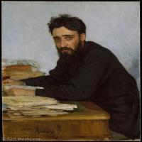 【打印级】YHR15105431-列宾Ilya Repin经典油画作品高清图片人物肖像油画作品图片素材写实派画家油画作品大图-31M-2929X3722
