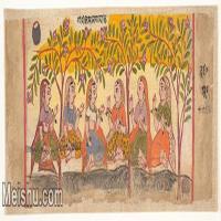 【欣赏级】YD12159748-印度画异域文化高清晰图片电子文件下载-15M-3890X1399