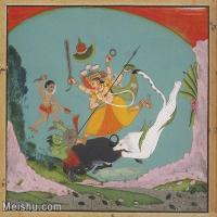 【印刷级】YD12159669-印度画异域文化高清晰图片电子文件下载-58M-4841X4256