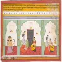 【欣赏级】YD12159720-印度画异域文化高清晰图片电子文件下载-6M-1960X1221