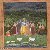 【欣赏级】YD12159781-印度画异域文化高清晰图片电子文件下载-7M-1357X1852