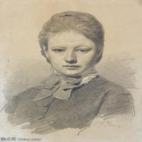 【打印级】SMR14154402-俄罗斯画家列宾Ilya Repin手绘素描速写作品图片素描手稿高清图片资料-32M-2831X4000