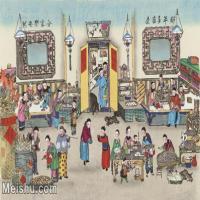【超顶级】MSH1073民俗画杨柳青年画新年多吉庆,合家乐安然图片-339M-11552X7646_1528171