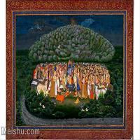 【印刷级】YD12159613-印度画风景 异域文化高清晰图片电子文件下载-47M-5001X3328