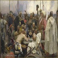 【打印级】YHR15105430-列宾Ilya Repin经典油画作品高清图片人物肖像油画作品图片素材写实派画家油画作品大图-29M-4174X2468