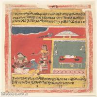 【欣赏级】YD12159713-印度画异域文化高清晰图片电子文件下载-7M-1463X1870