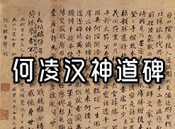 何绍基-何凌汉神道碑拓片集全