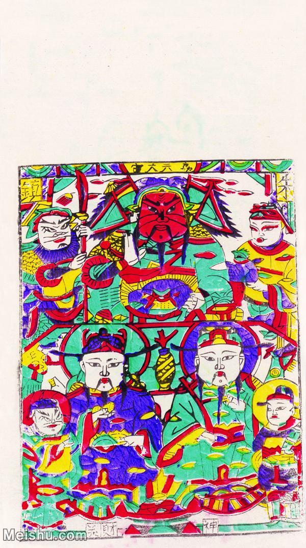【印刷级】MSH1093民俗画年画财神图片-38M-2756X4923.jpg