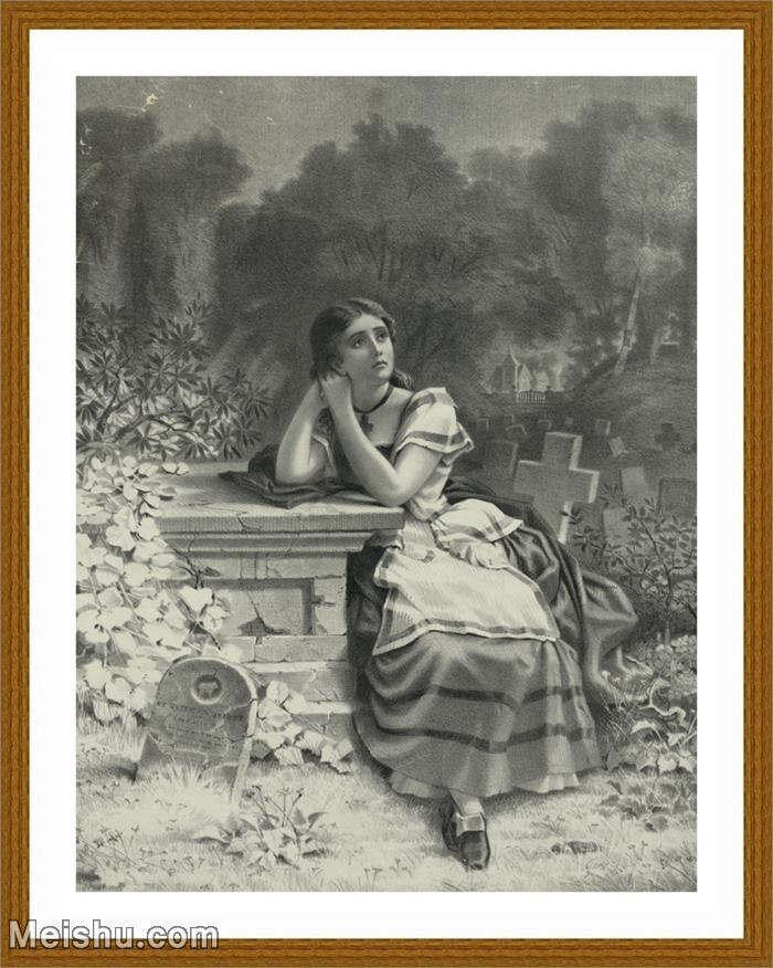 【印刷级】SM9196617-名作底稿-墓地十字架美女人物高清图片-97M-5089X6681.jpg