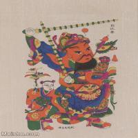 【超顶级】MSH1116民俗画门神年画 图片-52M-3578X5114
