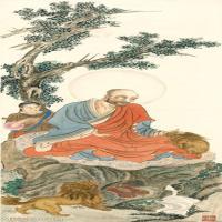 【欣赏级】GH6060575古画十八罗汉(小)7册页图片-9M-1116X2953_13287525