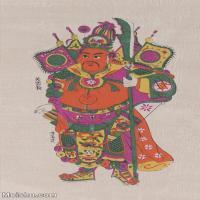 【超顶级】MSH1110民俗画门神年画 图片-51M-3263X5494