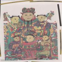 【超顶级】MSH1109民俗画财神年画图片-635M-12672X17536