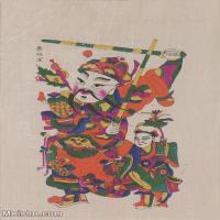 【超顶级】MSH1113民俗画门神年画 图片-52M-3554X5124