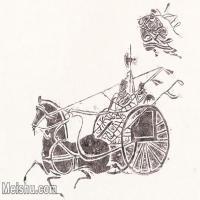 【印刷级】MSH1099民俗画战车战马图片-14M-2938X2008_1548421