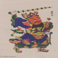 【印刷级】MSH1024民俗画尉迟恭门神图片-26M-2352X3916