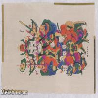 【超顶级】MSH1108民俗画滩头年画图片-410M-14272X10048