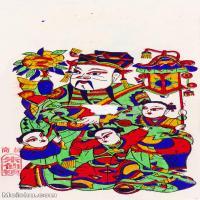 【印刷级】MSH1012民俗画朱仙镇年画福星图片-41M-2894X4957