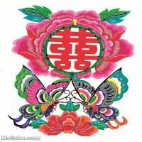 【印刷级】MSH1026民俗画民俗剪纸喜图片-19M-1915X2663_1514578