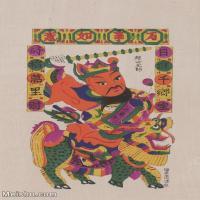 【超顶级】MSH1114民俗画门神年画 图片-52M-3557X5139