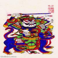 【印刷级】MSH1000民俗画朱仙镇年画门神图片-38M-2756X4847