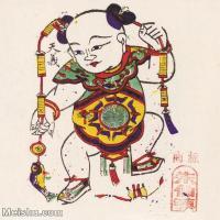 【印刷级】MSH1020民俗画朱仙镇年画年年有余图片-25M-2351X2618_1545234