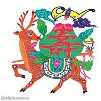 【印刷级】MSH1030民俗画民俗剪纸寿图片-22M-2113X2758_1517812