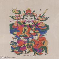【超顶级】MSH1112民俗画门神年画 图片-52M-3526X5162