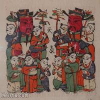 【欣赏级】MSH2002-民俗画-财神年画图片