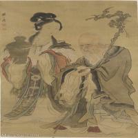 【超顶级】GH6086123古画人物全图立轴图片-979M-9183X18592_14776336