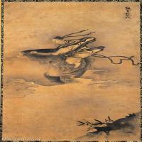 【印刷级】GH6086265古画人物琴高群仙图立轴图片-96M-3898X8652_14712157