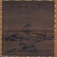 【印刷级】GH6086267古画人物白衣觀音圖立轴图片-105M-4100X9032_14741595