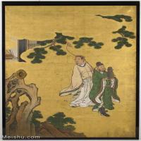 【印刷级】GH6086009古画人物立轴图片八仙过海-56M-3730X5300_14831202