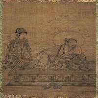 【印刷级】GH6086271古画人物維摩居士像立轴图片-130M-5160X8844_14725885
