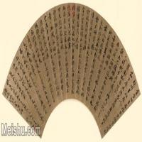 【超顶级】GH6070004古画书法扇面图片-128M-9861X4511_8839250