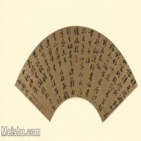 【超顶级】GH6070007古画书法扇面图片-139M-9084X5315_8841777