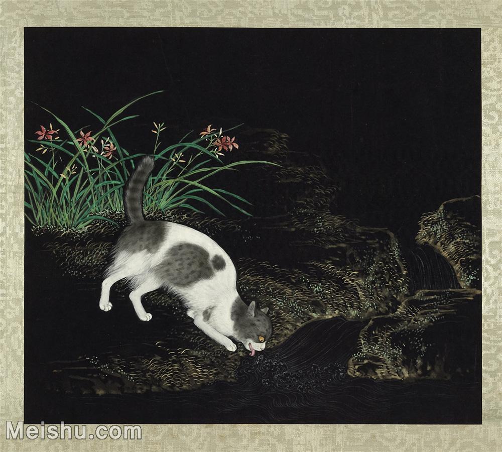 【欣赏级】GH6060050古画写意猫咪花猫(册页图片-7M-1667X1500.jpg