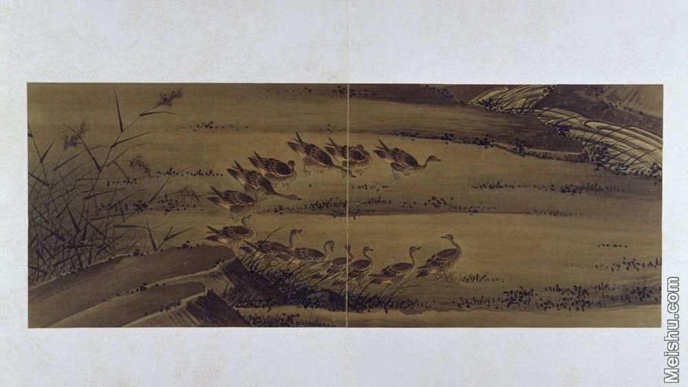 【印刷级】GH6064096古画古琴曲《秋鸿》图谱册2_册页13册页图片-70M-6616X3716.jpg