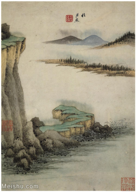 【打印级】GH6060510古画王鉴山水册(2)册页图片-9M-1520X2139.jpg