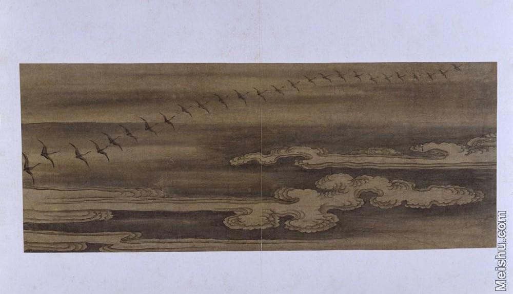 【印刷级】GH6064117古画古琴曲《秋鸿》图谱册4_15天衢远举图册页图片-69M-6527X3748.jpg